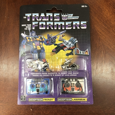 Transformers G1 Reissues Frenzy and Laserbeak