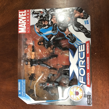 Marvel Universe X-Force set of 3