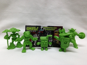 OMFG Series 3 Green - Header Pack