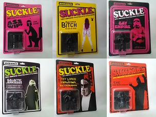 SUCKLE Series 1 Set of 10 Figures Carded in Black