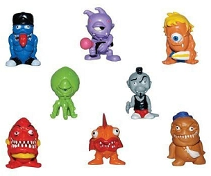 Freaky Geeks - Set of 8