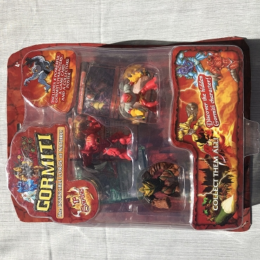 Gormiti 4 figure blister pack w/ Magmion
