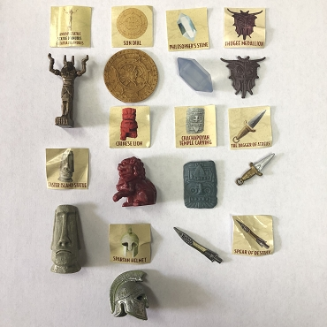 Indiana Jones Accessory lot for 3 3/4